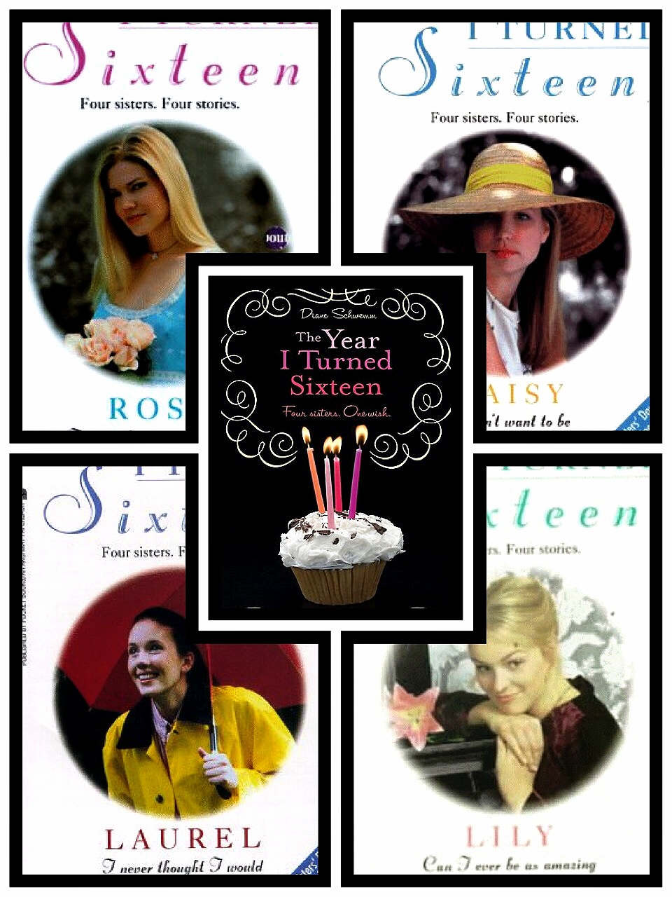 4: The Year I Turned 16 (series) by Diane Schwemm: This is a series about 4  sisters, with very different personalities, whom are growing up and trying  to ...